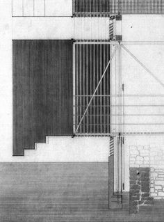 visible certainty — arkiiv: peter zumthor shelter for roman ruins Peter Zumthor, Architecture Drawings, Architecture Details, Ancient Architecture, Sustainable Architecture, Landscape Architecture, Shelter, Architectural Section, Architectural Sketches