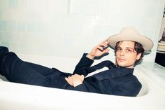 hot guy, hot digs: matthew gray gubler on the coveteur