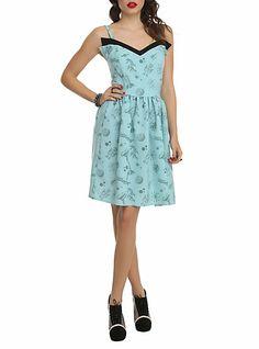 Rock Steady Mint Space Cadet Dress | Hot Topic