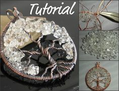 This is an advanced project.      In this tutorial, you will learn how to make a wire wrapped tree of life pendant using round, dead soft copper