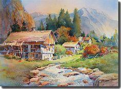 Watercolor - Rose Edin