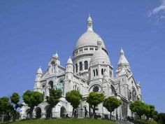 Sacre Coeur, beautiful church! On Mont Martre (in Paris ) you can see the whole city from the top :)