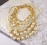 1a81fe598 Kate Spade Purely Pearly statement cream faux pearl Necklace NWT Faux Pearl  Necklace, Kate Spade
