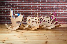 Rocking Monsters is a unique series wooden rocking toys for toddlers and little kids. They want to create safe, eco-friendly and ergonomic rocking toys. Toddler Gifts, Toddler Toys, Kids Toys, Young House Love, Christmas Gifts For Boys, Gifts For Kids, Quirky Wallpaper, Toys For Little Kids, Baby Activity Board