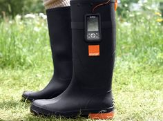 wearable technology:  Wearable Technology Thermoelectric Galoshes Charge Your Cellphone Using Heat From Your Feet