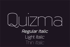 Quizma font by studiotypo - FontSpace