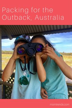 Packing for the Outback with Keen Footwear | Australia Packing List | What To Pack For Australia | MomTrends.com