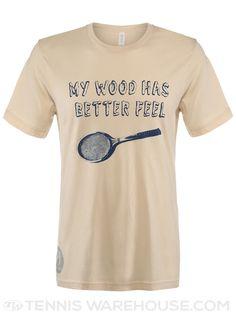 Stick It Wear?! 2014 Men's Woody T-Shirt #tennis