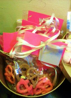 valentine goodies: choco and berry knots for your love ones