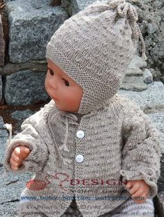 Lovely free baby knitting patterns designed by Maalfrid Gausel