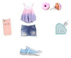 """CASUAL and a bit fancy :)"" by maddie-ziegler13 ❤ liked on Polyvore featuring Converse, Aéropostale and Kate Spade"