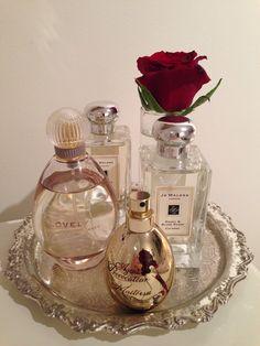 Perfume tray …