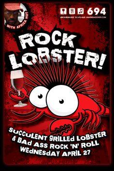 I want a punk lobster tattoo.