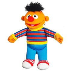 Playskool Ernie Mini Plush Sesame Street Toys. This cute soft Ernie mini plush toy from Playskool is a great way for children to bring the world of Sesame street to life. Feed their imagination with this gorgeous Ernie mini plush soft toy.