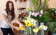 Flower Girl ~ Denise Porcaro on http://eye-swoon.com/flower-girl/
