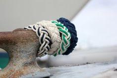 I love the classics: Nantucket Knotworks Rope Bracelets