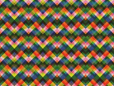 geometric : multicolour layered chevron