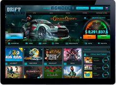 Онлайн Казино на деньги Drift Casino.  Онлайн казино Drift Casino способен подарить каждому игроку множество острых ощущений и настоящий азарт, а обилие платежных систем способствует простому выводу реальных денег.