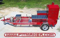 bbq smokers   Product BBQ Trailers - (800) 299-9005 (281) 359-PITS (7487) - Houston ...