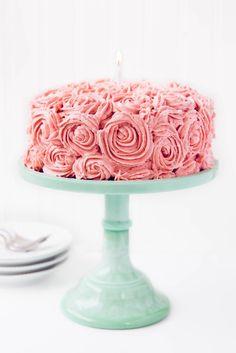 Inspired Photo of Birthday Cake Bakery Birthday Cake Bakery Strawberry Almond Birthday Cake Broma Bakery Send Birthday Cake, Image Birthday Cake, Birthday Cake With Photo, Pink Birthday Cakes, Birthday Cake Pictures, Birthday Email, 15th Birthday, Birthday Crafts, Happy Birthday