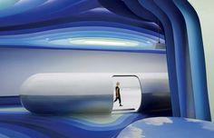Bureaux et showroom Cloud DSC à Nansha par Alberto Puchetti