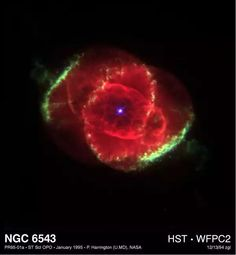 Hubble Image of Cat's Eye Nebulae (from EarthSky.org)