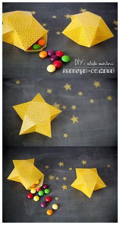 Faire-part de naissance original: Sous les étoiles