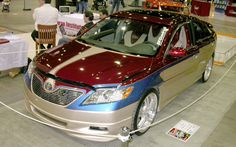 2008 Autorama 2007 Toyota Camry Euro Style Custom Front View Photo 21