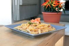 Penne with Smoked Salmon