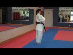 ▶ Warren Levi Karate - Kata Heian Sandan (slow motion) - YouTube