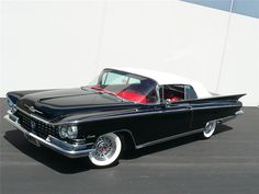 1959 Buick Invicta Convertible - such awesome tail fins. #vintage #1950s #cars