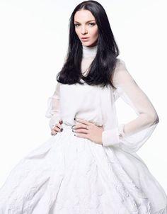 Madonne de la mode: Mariacarla Boscono by Satoshi Saikusa for Madame Figaro France 2nd January 2015