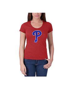 042fd2062 Los Angeles Dodgers Women s Knockout Scoop Neck T-Shirt - Royal