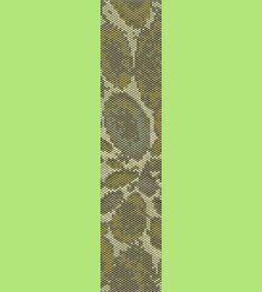 River Rock Bracelet Bead Pattern Loom and Peyote