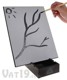 """The Original Buddha Board   Use just water to paint fleeting designs on this """"magical"""" board.  $31.50"""