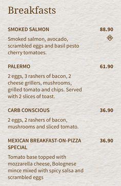 Pesto Eggs, Basil Pesto, Grilled Tomatoes, Sliced Tomato, Smoked Salmon, Cherry Tomatoes, Avocado, Stuffed Mushrooms
