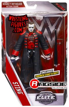 Sting - WWE Elite 39 WWE Toy Wrestling Action Figure by Mattel - $24