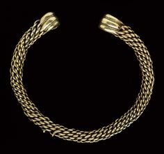 Glascote Torc, found near Tamworth, England, late 1st century BC-early 1st century AD
