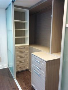 built in closet modern - Google Search