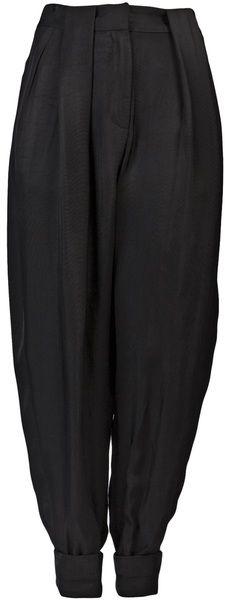 Double Box Pleat Trousers - Lyst ALEXANDER WANG