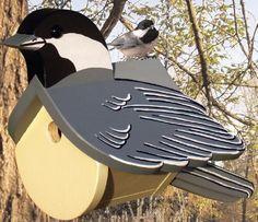 19-W3136+-+Chickadee+Dwelling+Birdhouse+Woodworking+Plan