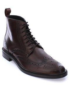 "Spotted this Gordon Rush ""Stiles"" Leather Boot on Rue La La. Shop (quickly!)."