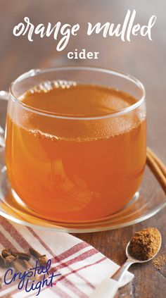 Orange Mulled Cider – This Healthy Living warm drink recipe is a spicy, citrusy sipper that is ideal for serving a crowd this winter. Ready in just 25 minutes, this homemade cider is a great way to warm up during the holidays.