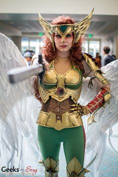 Hawkgirl – SDCC 2014 – Photo: Geeks are Sexy | Geeks are Sexy Technology News