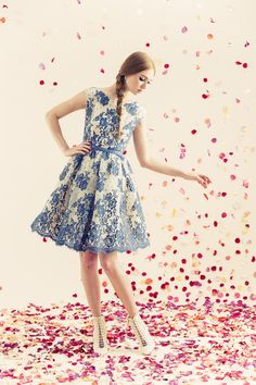 Alice + Olivia Resort 2014 #20 That is seriously beautiful!!