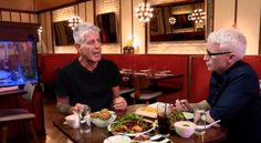 Anthony Bourdain Takes Anderson Cooper for One of New York's Hottest Dishes #food #recipes #spiralizer