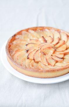 Je dis M. Food & Blog Lifestyle: Tarte aux pommes comme chez le boulanger