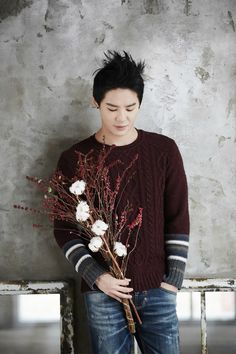 Xia Junsu #kpop #flower #inspiration