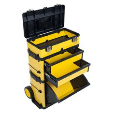 Stalwart 75-MJ2096 Rolling Stacking Portable Metal Trolley Tool Box Chest - - Amazon.com