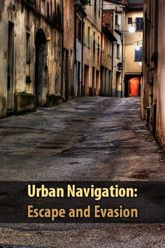 Urban Navigation: Escape and Evasion. In this video he talks about how to avoid getting trapped or lost in the middle of the city during a disaster. | Posted by: SurvivalofthePrepped.com